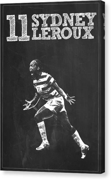 Seattle Sounders Fc Canvas Print - Sydney Leroux by Semih Yurdabak