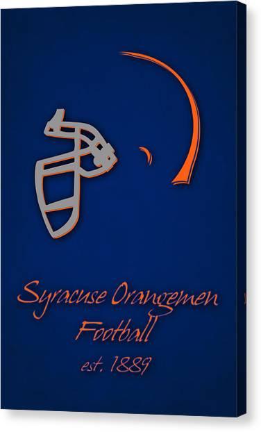 Syracuse University Canvas Print - Syracuse Orangemen by Joe Hamilton