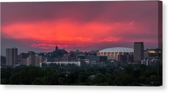 Syracuse University Canvas Print -  Syracuse Spectacular  by Everet Regal