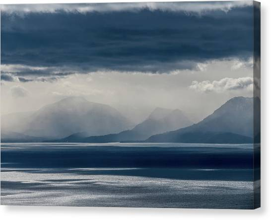 Tallac Stormclouds Canvas Print