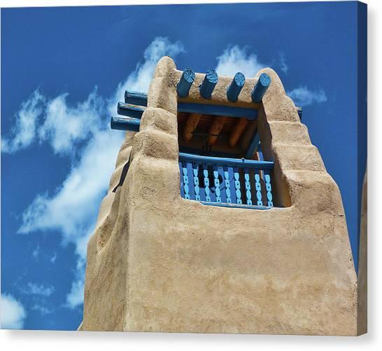 Taos Blue Canvas Print
