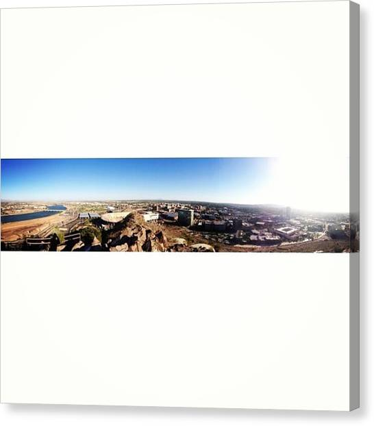 Arizona State University Asu Tempe Canvas Print - Tempe, Az by Alex Schmidt