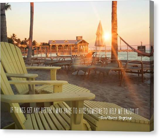 That Morning Light Quote Canvas Print by JAMART Photography