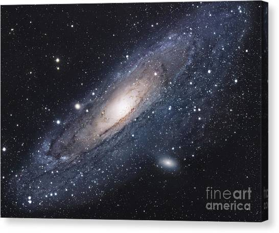 Constellations Canvas Print - The Andromeda Galaxy by Robert Gendler