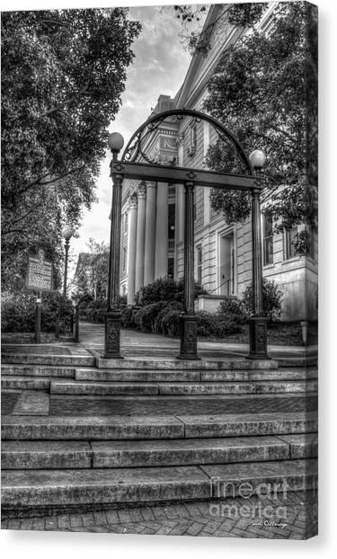 The Arch 5 University Of Georgia Arch Art Canvas Print