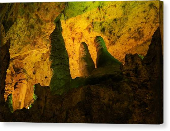 Carlsbad Caverns Canvas Print - The Beauty Of Carlsbad  by Jeff Swan