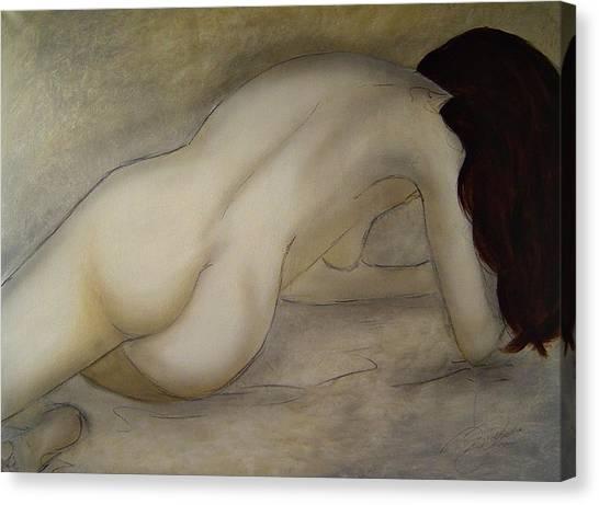 The Beauty Of Quiet Canvas Print by Bridgette  Allan