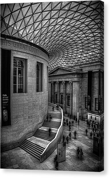 The British Museum Canvas Print - The British Museum by Martin Newman