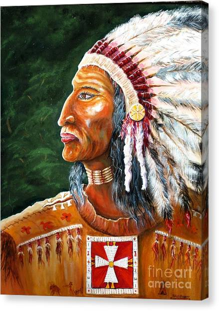 The Chief Canvas Print