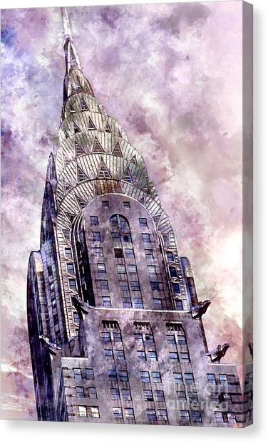 Etc Canvas Print - The Chrysler Building by Jon Neidert