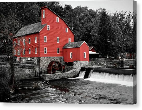 The Clinton Mill Canvas Print
