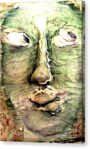 The Dawn Of Free Will Canvas Print by Kime Einhorn