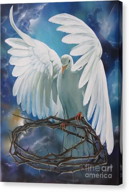 The Dove Canvas Print