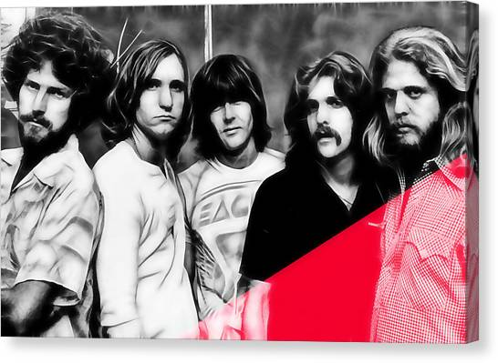 The Eagles Collection Canvas Print