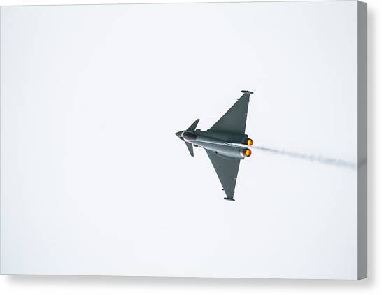 The Eurofighter Typhoon Canvas Print