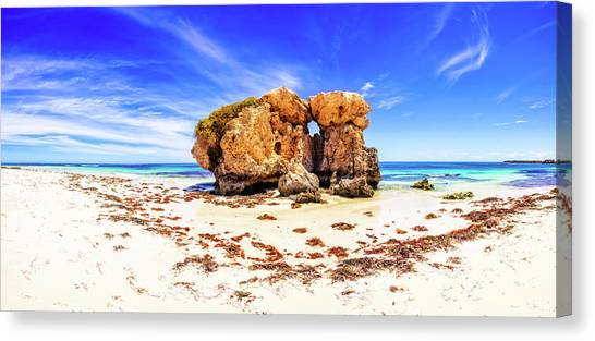 The Sentry, Two Rocks Canvas Print