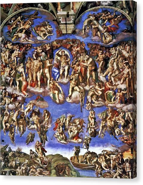 The Last Judgement Canvas Print