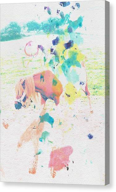 Contemporary Art Canvas Print - The Little Pony by Contemporary  Art