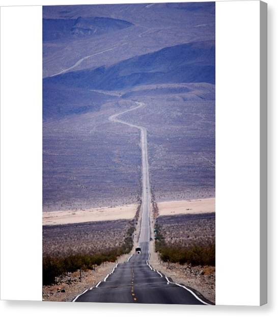 Star Trek Canvas Print - The Long Road Ahead 🇺🇸 by Scotty Brown