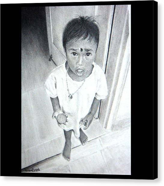 The Maid's Nephew Canvas Print