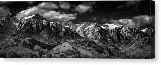 The Majestic Sierras Canvas Print