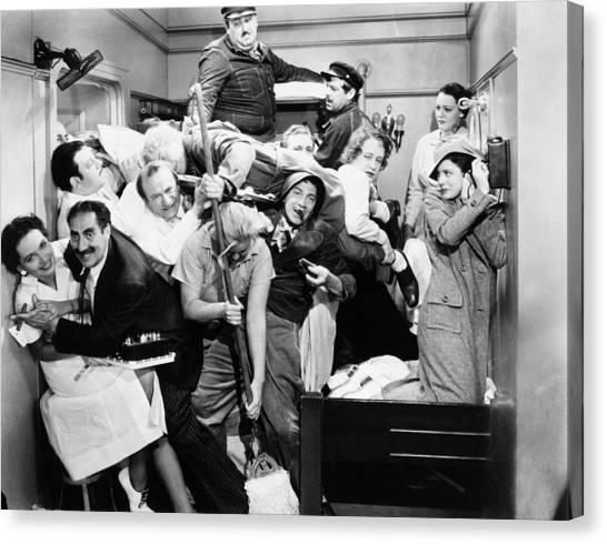 Chico Canvas Print - The Marx Brothers, 1935 by Granger