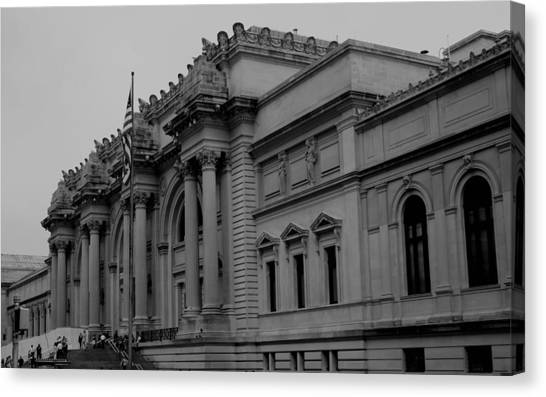 The Metropolitan Museum Of Art Canvas Print - The Metropolitan Museum Of Art by Christopher Kirby