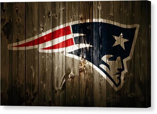 Joe Montana Canvas Print - The New England Patriots 2a by Brian Reaves