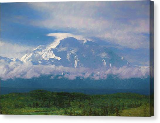 The North Face Canvas Print