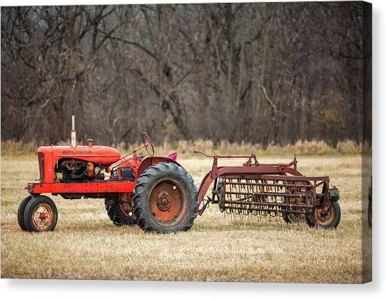 Tractors Canvas Print - The Ol' Wd by Todd Klassy