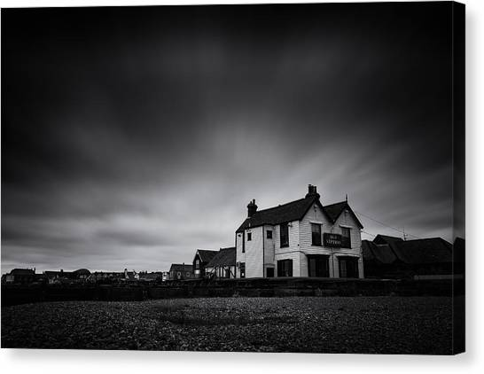 Neptune Canvas Print - The Old Neptune by Ian Hufton