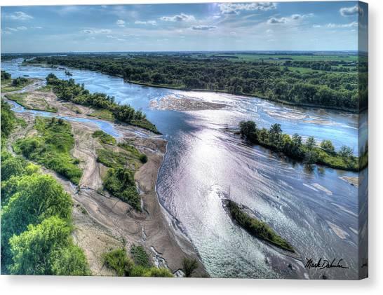 The Platte River Canvas Print