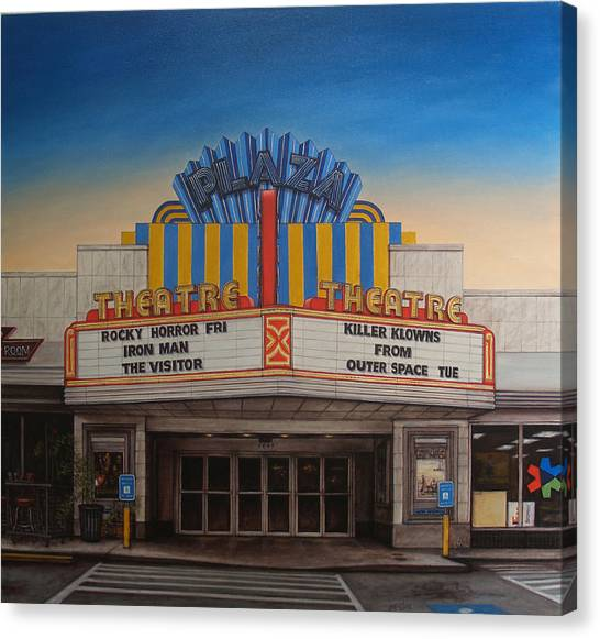 The Plaza Canvas Print by Rick McClung