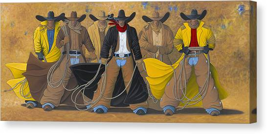 The Posse Canvas Print
