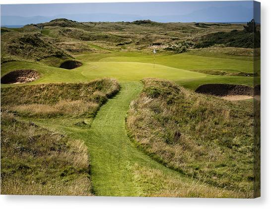 The Postage Stamp - Royal Troon Golf Course Canvas Print