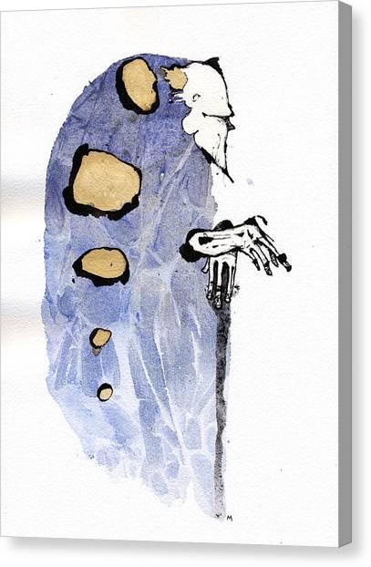 The Prophet Three Canvas Print by Mark M  Mellon