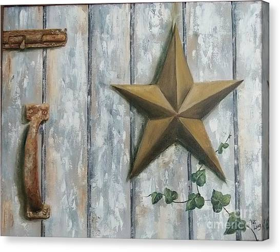 The Rusty Latch Canvas Print