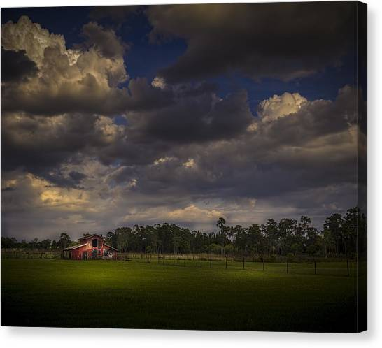 Tractors Canvas Print - The South Forty by Marvin Spates
