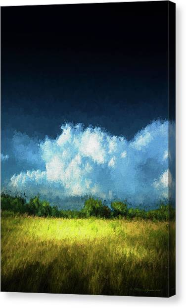 Rainclouds Canvas Print - The Storm by Marvin Spates