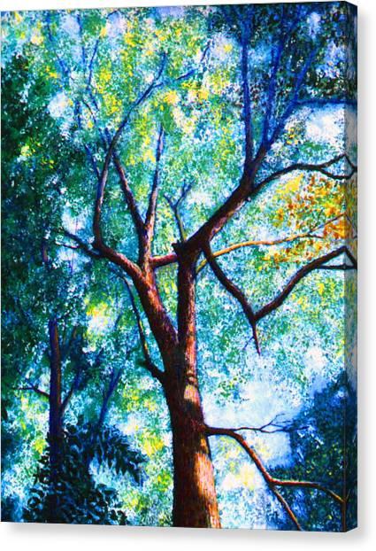 The Tree Canvas Print by Stan Hamilton