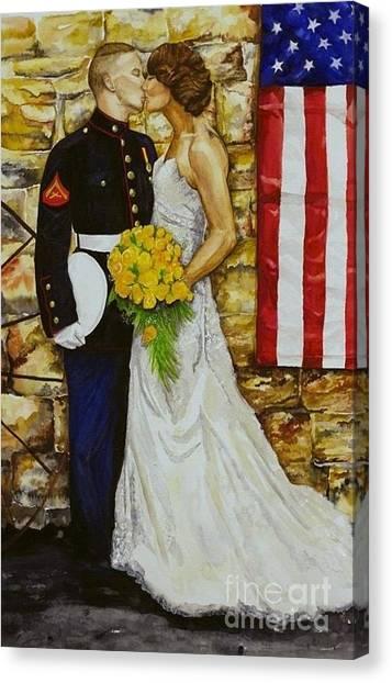 The Wedding Canvas Print