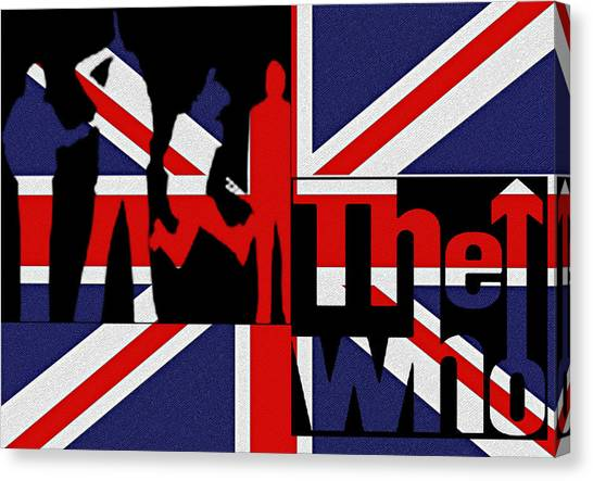 Canvas Print - The Who by Bill Cannon