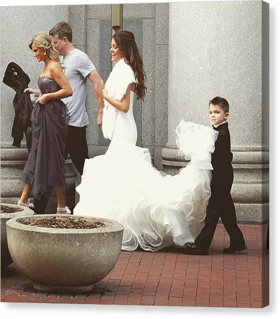 Wedding Canvas Print - This Is A Groom. #wedding #groom by David Haskett II