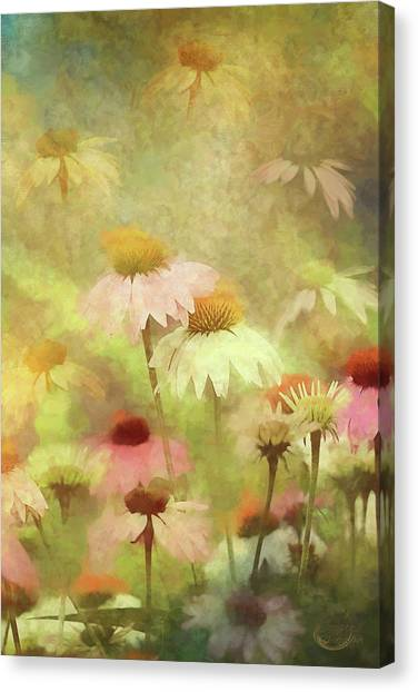 Thoughts Of Flowers Canvas Print