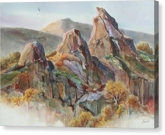 Three Sisters Canvas Print by Don Trout