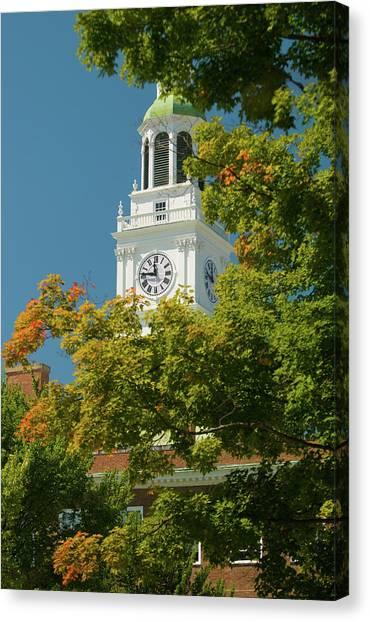 Dartmouth College Canvas Print - Time For Autumn by Paul Mangold