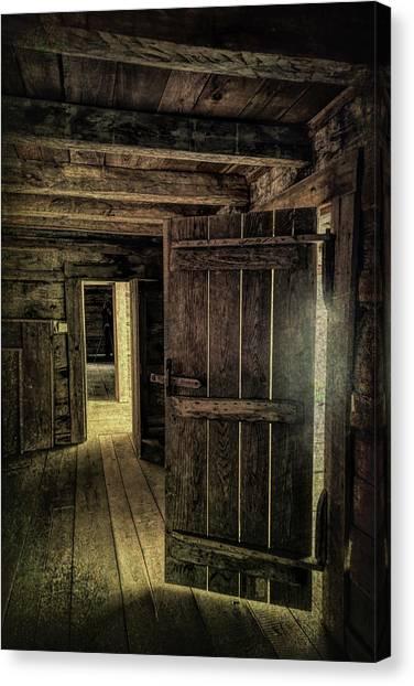 Tipton Cabin Canvas Print
