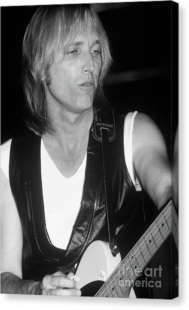 Tom Petty Canvas Print - Tom Petty by David Plastik