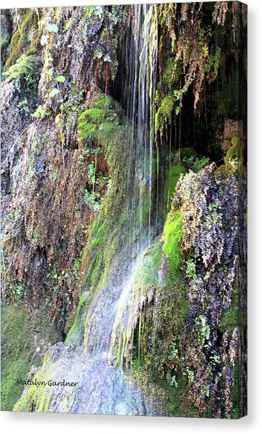 Tonto Waterfall Cave Canvas Print