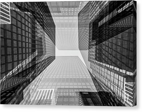 Toronto Financial District Canvas Print